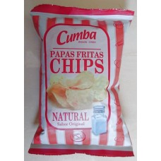 Cumba - Chips Papas Fritas Natural 37g hergestellt auf Gran Canaria