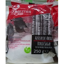Comeztier - Azucar De Abedul Xilitol Natural natürliches Süßungsmittel vegan 250g Tüte hergestellt auf Teneriffa