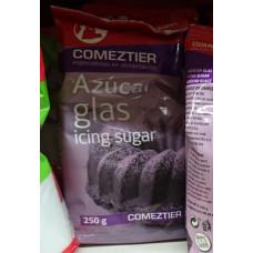 Comeztier - Azucar Glas Glasur Icing sugar Puderzucker 250g hergestellt auf Teneriffa