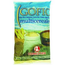 Comeztier - Gofio Multicereales Mehrkornmehl geröstet 1kg Tüte hergestellt auf Teneriffa - LAGERWARE