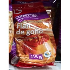 Comeztier - Flan de Gofio Pudding 115g Tüte hergestellt auf Teneriffa - LAGERWARE