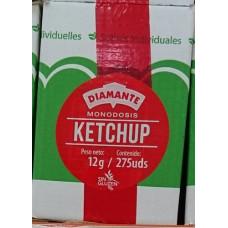 Diamante - Ketchup Salsa de Tomate Portionspackungen 12g x 275 Stück hergestellt auf Gran Canaria