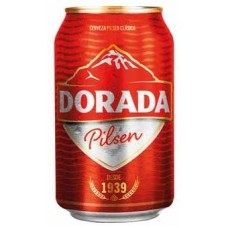 Dorada - Pilsen Cerveza Bier 4,7% Vol. 330ml Dose hergestellt auf Teneriffa - LAGERWARE