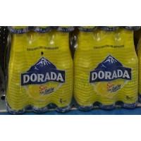 Dorada - Sin Alc. con limon Bier Radler alkoholfrei - 4x 6er-Pack 250ml 24 Flaschen Stiege von Teneriffa