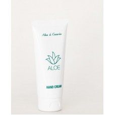 Alma de Canarias - Aloe Vera Handcreme 100ml Tube hergestellt auf Lanzarote - LAGERWARE