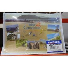 Macopack - Einweg-Essplatzunterlage Islas Canarias 30x43cm Papier 250 Stück