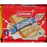 Bandama - Tostadas con Crema Sabor Fresa 125g hergestellt auf Gran Canaria