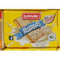Bandama - Tostadas con Crema Galletas Sabor Limon 125g hergestellt auf Gran Canaria