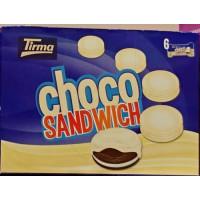 Tirma - Choco Sandwich blanco weiße Schokoladen-Hülle 240g hergestellt auf Gran Canaria