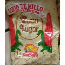 Buen Lugar - Gofio de Millo Argentino Maismehl geröstet 1kg hergestellt auf Gran Canaria