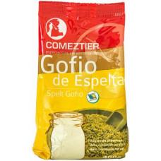 Comeztier - Gofio de Espelta kanarisches Dinkelmehl geröstet 400g Tüte hergestellt auf Teneriffa - LAGERWARE
