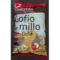 Comeztier - Gofio de Millo Tueste Especial Maismehl geröstet 1kg Tüte hergestellt auf Teneriffa