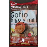 Comeztier - Gofio de Trigo y Millo Weizen- & Maismehl geröstet 1kg hergestellt auf Teneriffa