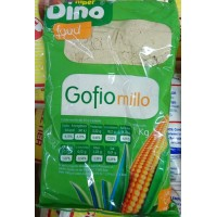 Dino Food - Gofio Millo Mais 1 Kg hergestellt auf Teneriffa