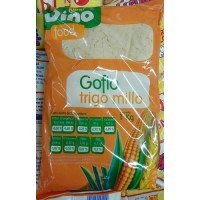 Dino Food - Gofio Trigo Millo Weizen Mais 1 Kg hergestellt auf Teneriffa