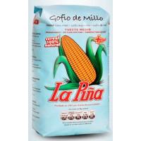 Gofio La Piña - Gofio de Millo Tueste Medio Maismehl geröstet 500g hergestellt auf Gran Canaria - LAGERWARE MHD: 07.10.2020