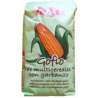 Gofio La Piña - Gofio Millo Multicereales con garbanzo Mehrkorn mit Kichererbsen 500g hergestellt auf Gran Canaria