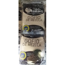 Molino de Gofio Imendi - Gofio de Mezcla (Millo y Trigo) 10x40g Portionspackungen hergestellt auf La Gomera