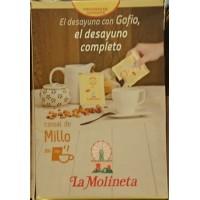 Gofio La Molineta - Cereal de Millo Gofio Maismehl geröstet für den Kaffee 30x 25g Portionstütchen hergestellt auf Teneriffa