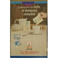 Gofio La Molineta - Cereal de Trigo Gofio Weizenmehl geröstet für den Kaffee 30x 25g Portionstütchen hergestellt auf Teneriffa