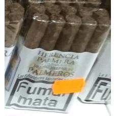 Herencia Palmera - Palmeros 10 Senoritas Capa Natural Zigarillos hergestellt auf Gran Canaria