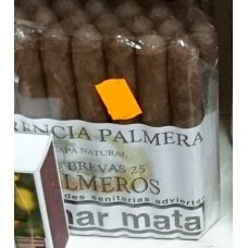 Herencia Palmera - Palmeros 25 Brevas Capa Natural Zigarren hergestellt auf Gran Canaria