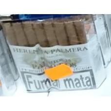 Herencia Palmera - Palmeros 25 Palomitos Capa Natural Zigarren hergestellt auf Gran Canaria