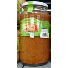 Argodey Fortaleza - Bienmesabe Honig-Mandel-Creme 1kg Glas hergestellt auf Teneriffa - LAGERWARE