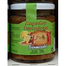 Argodey Fortaleza - Bienmesabe Honig-Mandel-Aufstrich 200g hergestellt auf Teneriffa - LAGERWARE