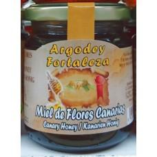 Argodey Fortaleza - Miel de Flores Canarios Bienenhonig 200g hergestellt auf Teneriffa - LAGERWARE