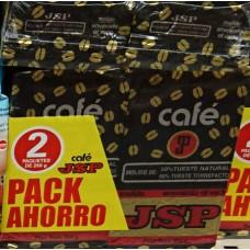 JSP - Cafè - Molido 50/50 Tueste Natural & Tueste Torrefacto Karton Set 2x 250g hergestellt auf Teneriffa