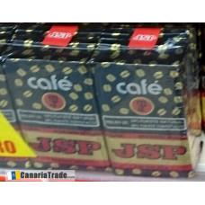 JSP - Cafe - Molido 50/50 Tueste Natural & Tueste Torrefacto Karton 3x 250g hergestellt auf Teneriffa