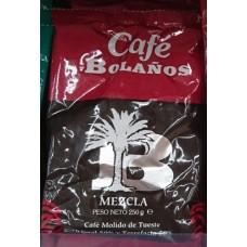 Cafe Bolanos - Cafe Molido de Tueste Natural 50% Torrefacto 50% Kaffee 250g Tüte hergestellt auf Gran Canaria - LAGERWARE