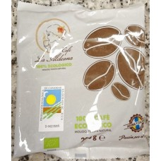 Cafe la Aldeana - Cafe Ecologico Tueste Natural Molido Bio-Kaffee gemahlen 200g Tüte hergestellt auf Gran Canaria - LAGERWARE
