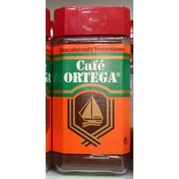 Cafe Ortega - Cafe Descafeinado Instantaneo Instantkaffee entkoffeiniert 200g Glas hergestellt auf Gran Canaria
