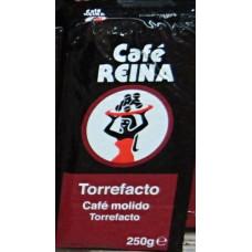 Cafe Reina - Cafe Torrefacto Molido Kaffee gemahlen 250g hergestellt auf Teneriffa - Lagerware