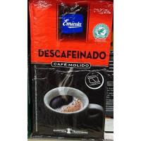 Emicela - Cafè Molido descafeinado Kaffee entkoffeiniert gemahlen 250g hergestellt auf Gran Canaria