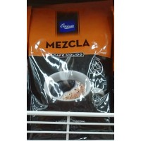 Emicela - Cafè Molido Mezcla Kaffee geröstet gemahlen Tüte 500g hergestellt auf Gran Canaria