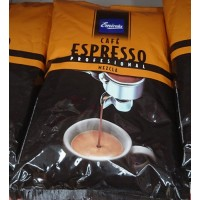 Emicela - Cafè Profesional Espresso Mezcla 50/50 Röstkaffee ganze Bohnen 1kg Tüte hergestellt auf Gran Canaria