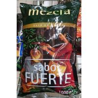 Hacendado - Cafe en Grano Mezcla sabor fuerte Nr. 4 50% natural 50% torrefacto Röstkaffee ganze Bohnen 1kg Tüte hergestellt auf Teneriffa