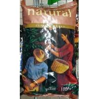 Hacendado - Cafe en Grano Sabor Natural Nr. 1 Röstkaffee ganze Bohnen 1kg Tüte hergestellt auf Teneriffa