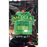 Hacendado - Cafe Molido Mezcla 50% Natural 50% Torrefacto Nr. 5 Kaffee gemahlen 250g Tüte hergestellt auf Teneriffa