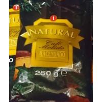 Hacendado - Cafe Molido Natural Nr. 1 Kaffee gemahlen 250g Tüte hergestellt auf Teneriffa