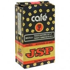 JSP - Cafe - Molido 50/50 Tueste Natural & Tueste Torrefacto Karton 250g hergestellt auf Teneriffa - LAGERWARE