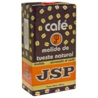 JSP - Cafe Molido de Tueste Natural Röstkaffee gemahlen Karton 250g hergestellt auf Teneriffa - LAGERWARE - MHD: 31.12.19