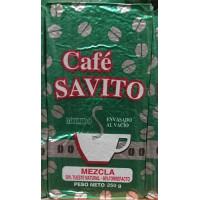 JSP - Cafe Savito Molido Mezcla Kaffee gemahlen Karton 250g hergestellt auf Teneriffa