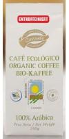 Lezzato - Café Ecologico Descafeinado Bio-Röstkaffee entkoffeiniert gemahlen 250g hergestellt auf Teneriffa - LAGERWARE