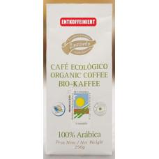 Lezzato - Café Ecologico Descafeinado Bio-Kaffee entkoffeiniert gemahlen 250g hergestellt auf Teneriffa - LAGERWARE