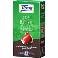 Tirma - Café Natural Capsulas Kaffee 10 Kapseln hergestellt auf Gran Canaria