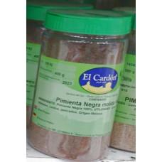 El Cardon - Pimienta Negra Molida schwarzer Pfeffer gemahlen 450g Dose von Gran Canaria